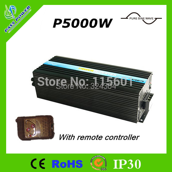 CE&RoHS approved,High Power Inverter 5000w 12v 220v Ture Sine Wave Home Inverter for Air-Condition(China (Mainland))