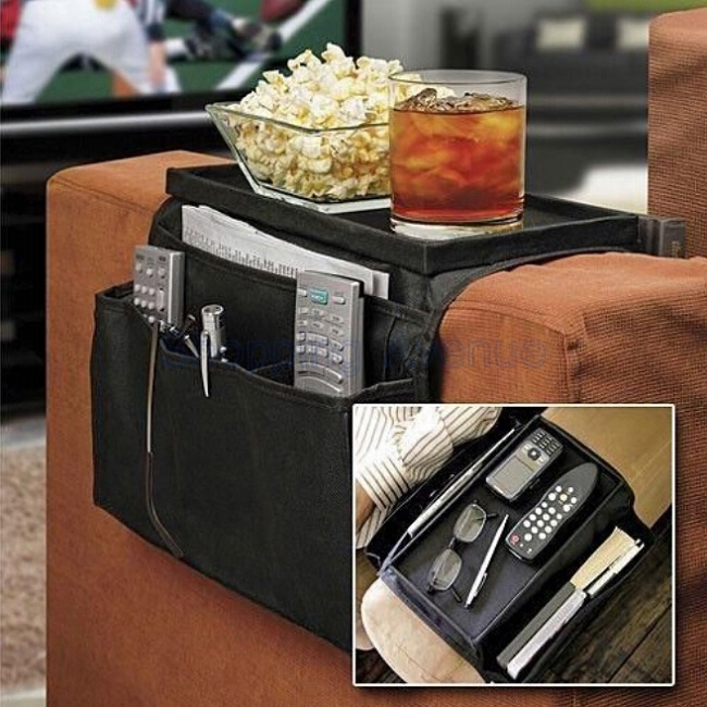 New Foldable Oxford Cloth Sofa Side Storage Bag Arm Rest Organizer Multilayer House And Home Commodity(China (Mainland))