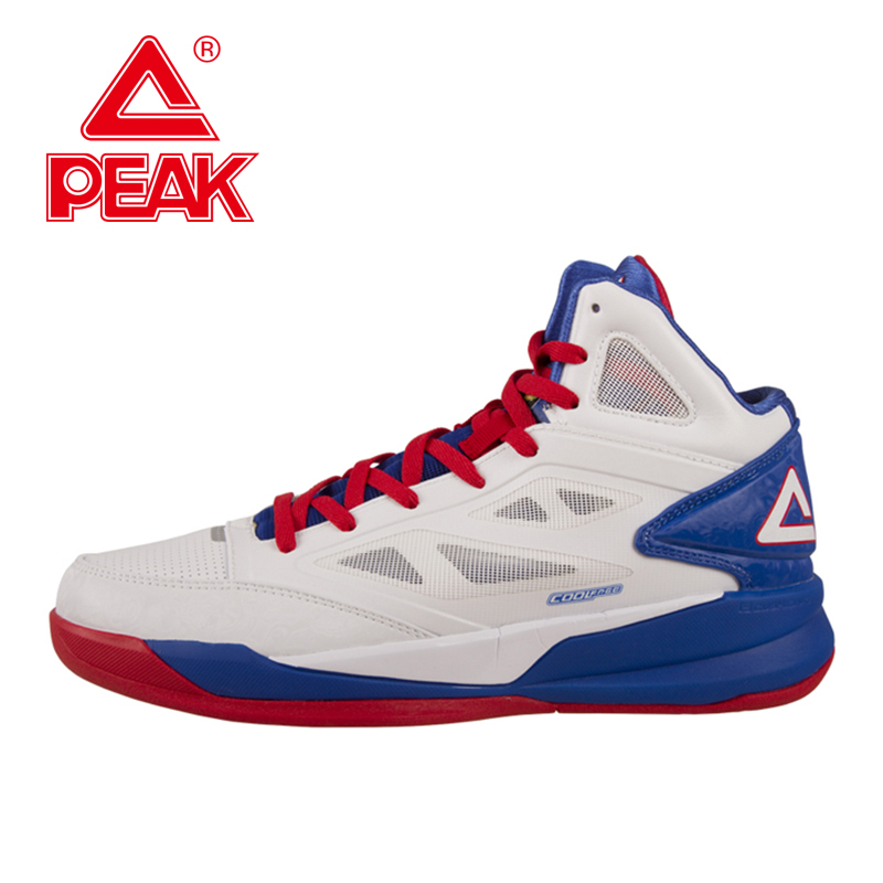 PEAK SPORT Men Basketball Shoes FOOTHOLD Cushion-3 COOLFREE Tech Athletic Ankle Boots Breathable Comfortable Training Sneakers(China (Mainland))