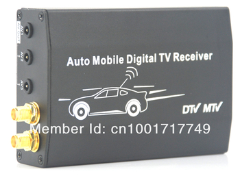 car dvb t tuner  H.264/MPEG4 with 200KM/Hour