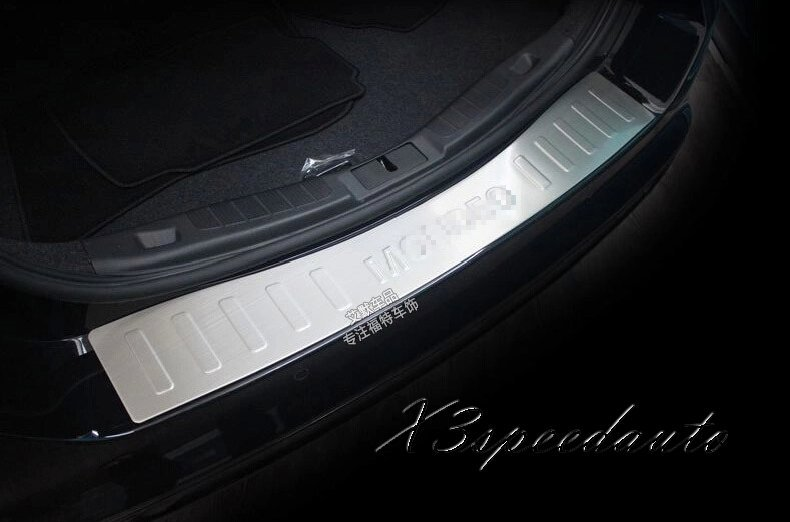 Car Styling Protoctor Stainless Steel Rear Bumper Door Sill Plate Scuff Ford Mondeo Fusion 2013 - X3speedauto store