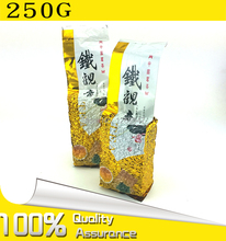 250g Chinese Anxi TieGuanYin Green Tea Oolong Tie Guan Yin 1725 Gold Gui  Weight Loss China Green Food  slimming teas Gift GY01(China (Mainland))