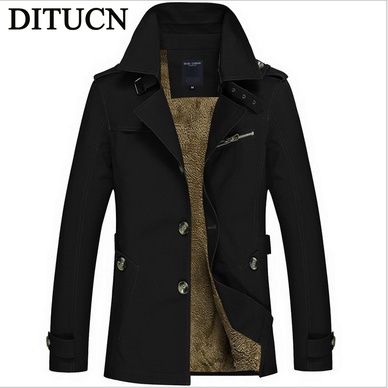 2016 NEW Trench Coat Men Classic Double Breasted Trench Coat Mens Long Jackets for Male British Style Overcoat Hombre Largo(China (Mainland))