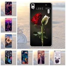 Buy Phone Case Lenovo K3 Note A7000 Cartoon Painted TPU Soft Silicone Cover Shell Animal Scenery Print Case Lenovo A7000 for $1.39 in AliExpress store