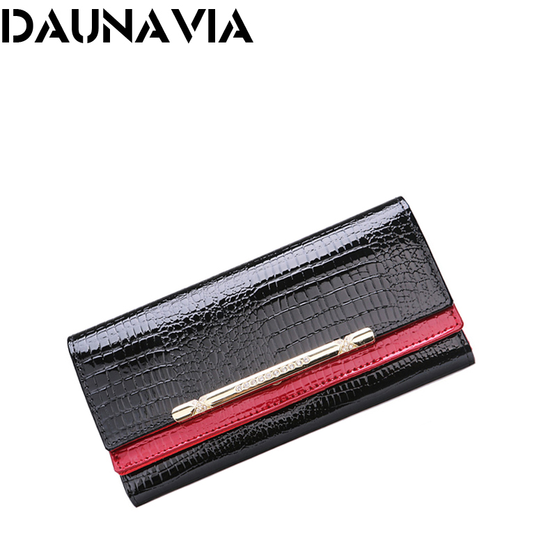 Luxury women wallets patent leather high quality designer brand wallet lady fashion clutch casual women purses party(China (Mainland))