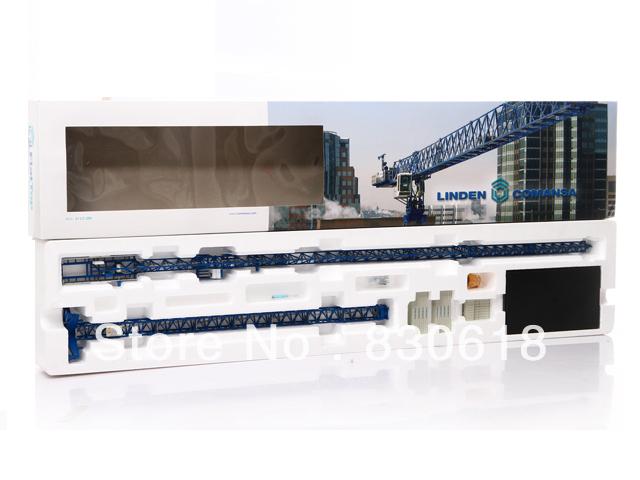 FLATTOP LINDEN COMANSA 21 LC 290 1/87 TOWER CRANE DIECAST toy(China (Mainland))