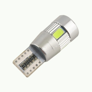 1/2/4PCs Canbus Error Free T10 194 501 W5W 5630 6SMD COB LED White High Power Car Auto Wedge Lights Parking Bulb Lamp DC12V