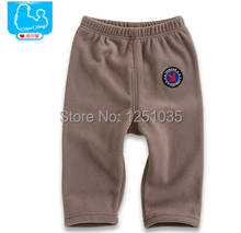 Autumn and winter Baby clothing baby boys and baby girls trousers can open file baby pants 3-6 years old fashion warm pants(China (Mainland))