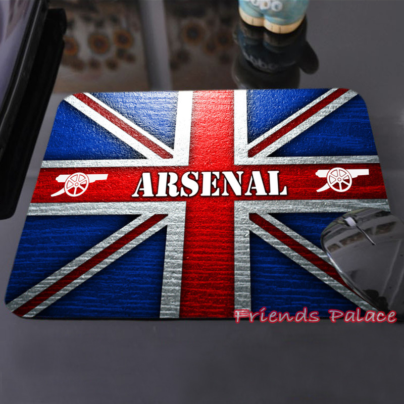 Best Sales Customized Mouse Pad Arsenal Football Club Union Jack Trendy Cool Computer Notebook Rectangle Mouse Mat Pad(China (Mainland))