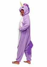 Cartoon Romper My Little Pony Purple Unicorn Jumpsuits Costumes Adult Onesie Pajamas Halloween Christmas Party Costumes