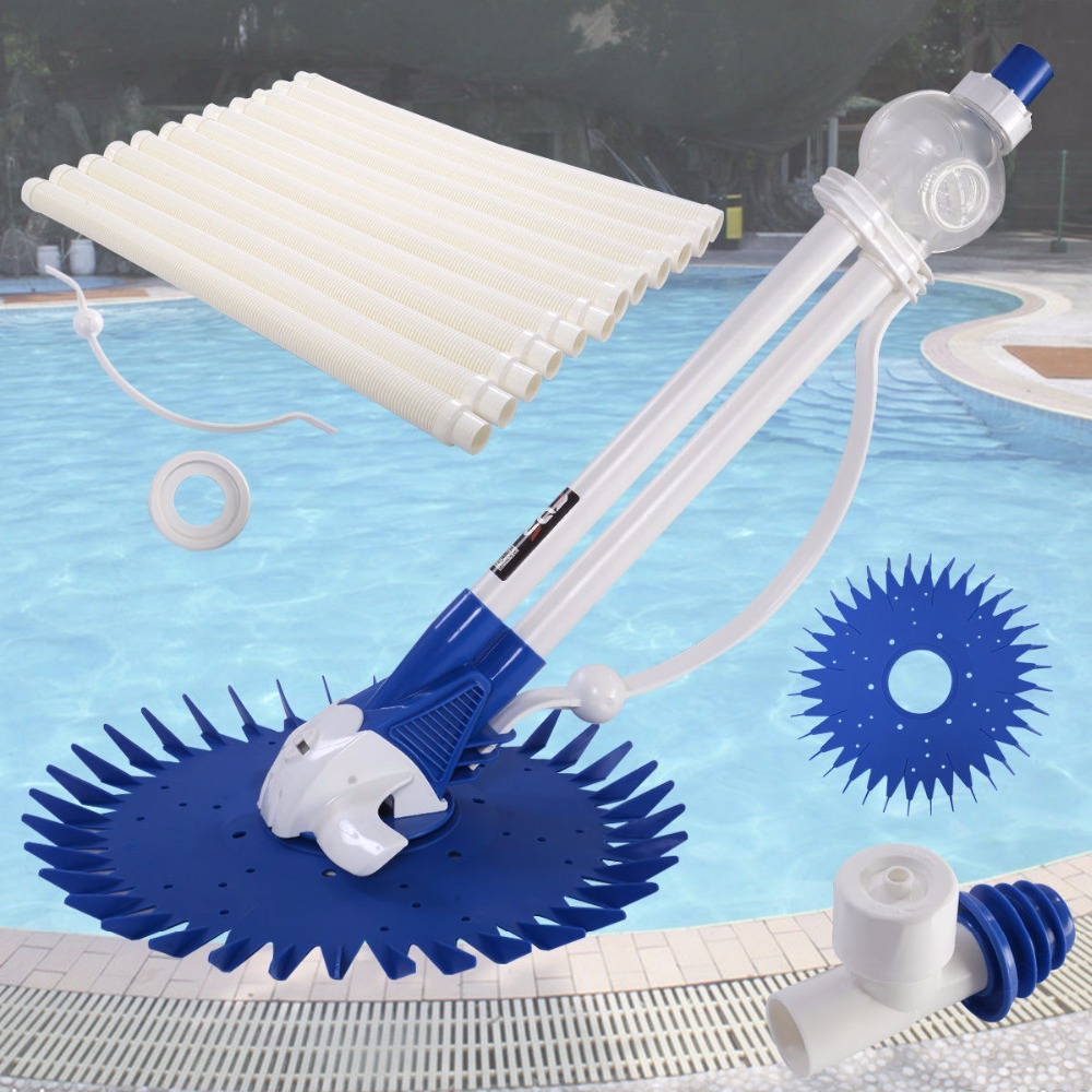 Automatic Swimming Pool Cleaner Vacuum Hose Inground Above Ground Climb Wall HW50180(China (Mainland))