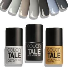 12 Colors Focallure Gray Series UV Nail Varnish Gel Polish Nail Gel Polish UV Lamp Needed Nail Beauty For Nail Art