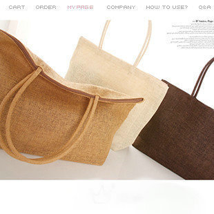 Hot sale! Simple Wild Shoulder Girls Women Straw Bag, Woven Package Weaving Beach Tote Shoulder Big Bag, 12 Color, Free Shipping