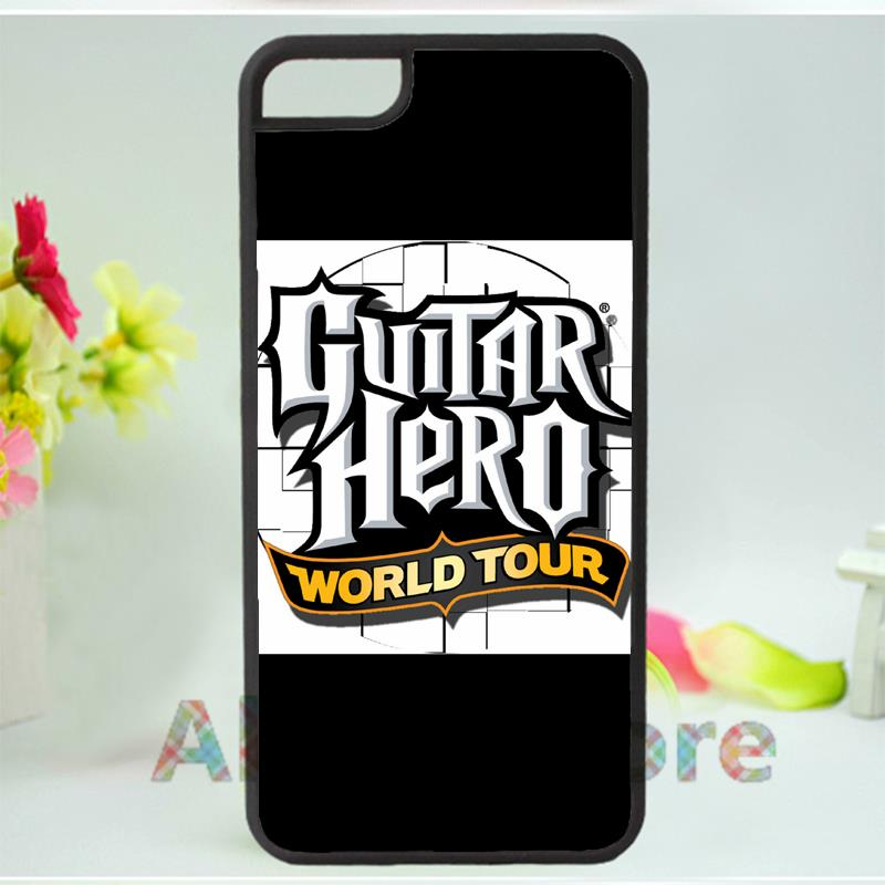 guitar hero4 mobile phone case cover for iphone 4 4s 5 5s 5c SE 6 6s & 6 plus 6s plus E3499(China (Mainland))