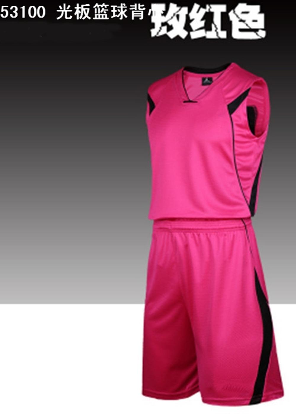 new Blank Man basketball Jersey kits Sports basketball kits your basketball jersey kits shirts Camiseta de baloncesto unifrom(China (Mainland))