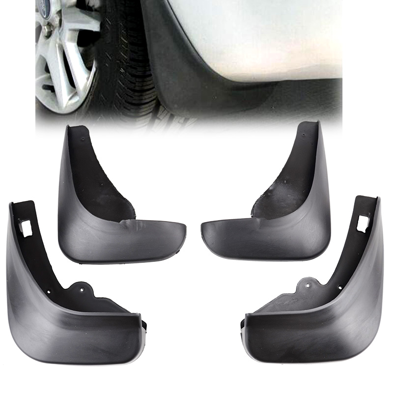 Domilay Fit for Focus 2 Mk2 Mk2.5 Saloon Sedan 2005-2011 Mudflaps Mud Flap Splash Guards Front Rear 2006 2007 2008 2009 2010