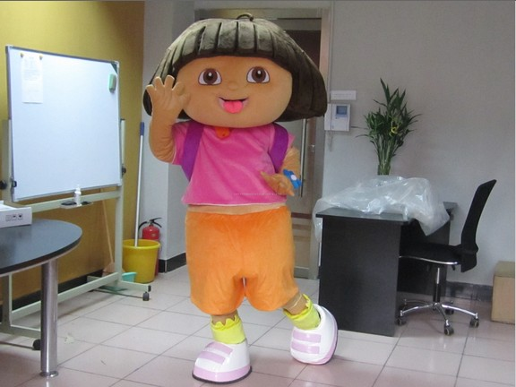 Big head Dora mascot apparel character Dora dressОдежда и ак�е��уары<br><br><br>Aliexpress