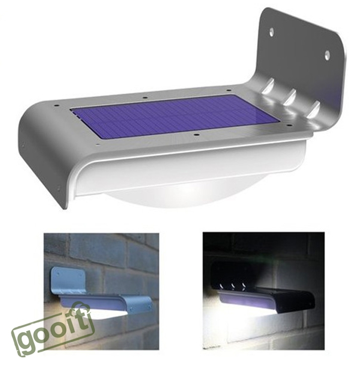 16 LED Solar Power Motion Sensor Garden Security Lamp Outdoor Waterproof wall Lights SMD2835 led lamps For Home Garden Outdoor(China (Mainland))