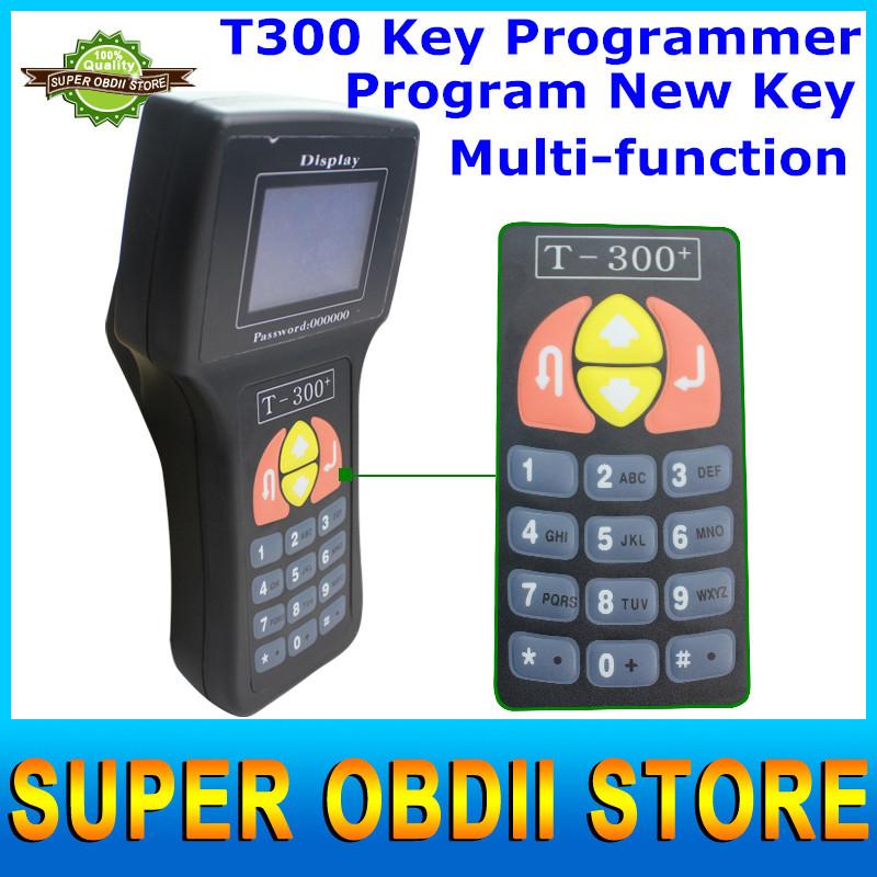 Professional Newest V15.8 T300 Key Programming T 300 Auto Transponder T-300 Key Programmer Spanish / English Option(China (Mainland))