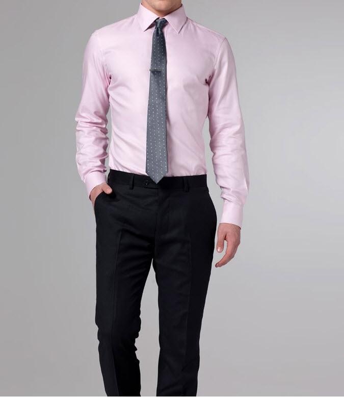 2014 slim fit long sleeves men 39 s shirt turn down collar for Men oxford slim fit long sleeve shirt