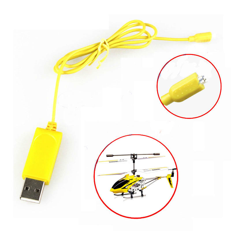 RC Helicopter Syma S107 S105 USB Mini Charger Charging Cable Parts Drone Charging Cable(China (Mainland))