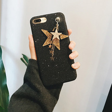 Buy HOT Star Pendant Soft Bling Glitter Powder Case iPhone 6 6S 6plus 6Splus 7 7plus Back Cover Protective Phone Cases Coque for $6.64 in AliExpress store