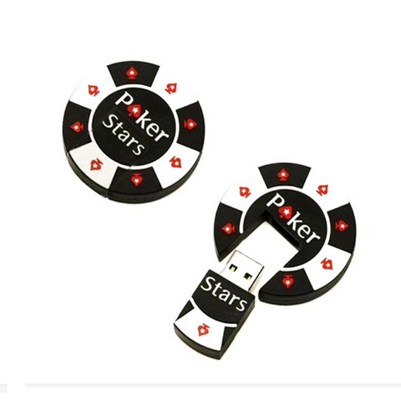 Hot Sell High Speed Poker Face USB Flash Drives USB 2.0 Pen Drive 32GB/16GB/8GB/4GB pendrives U disk(China (Mainland))