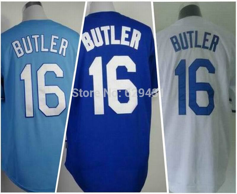 Outlet Cheap Bo Jackson. Billy Butler Jersey #16 Kansas City Baseball Jerseys China Best Sale Embroidery logos(China (Mainland))