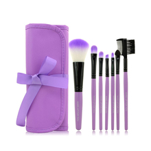 2015 HOT Professional 7 pcs Makeup Brush Set tools Make up Toiletry Kit Wool Brand Make