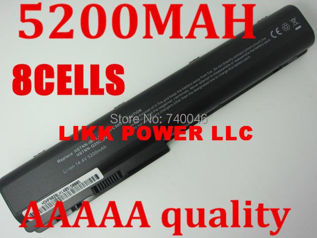 laptop battery FOR HP Pavilion DV7 DV7-10000 DV8-1000 HDX X18-1000,HDX X18-1100,HDX X18-1200(China (Mainland))