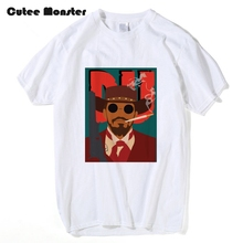 Buy Django Unchained T shirt Men Dr. King Movie Quentin Tarantino Movie Printed T-shirt Short Sleeve Hip Hop Top Tees 3XL for $12.67 in AliExpress store