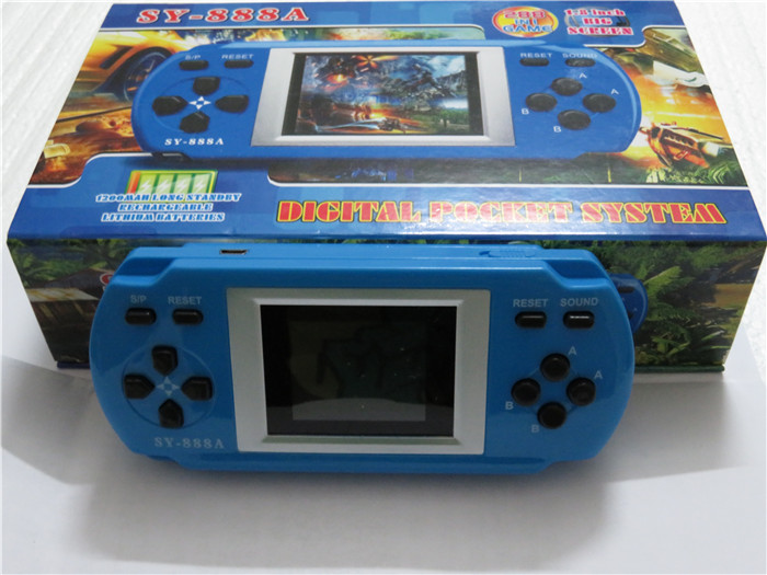 wholesale cheap Christmas new year gifts 1.8 inch color screen handheld 288 games player consoles(China (Mainland))