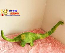 Cuello largo dinosaurio muñeca juguetes de felpa verde tyrannosaurus dinosaurios creativo doll niños regalo de cumpleaños cerca de 70 cm