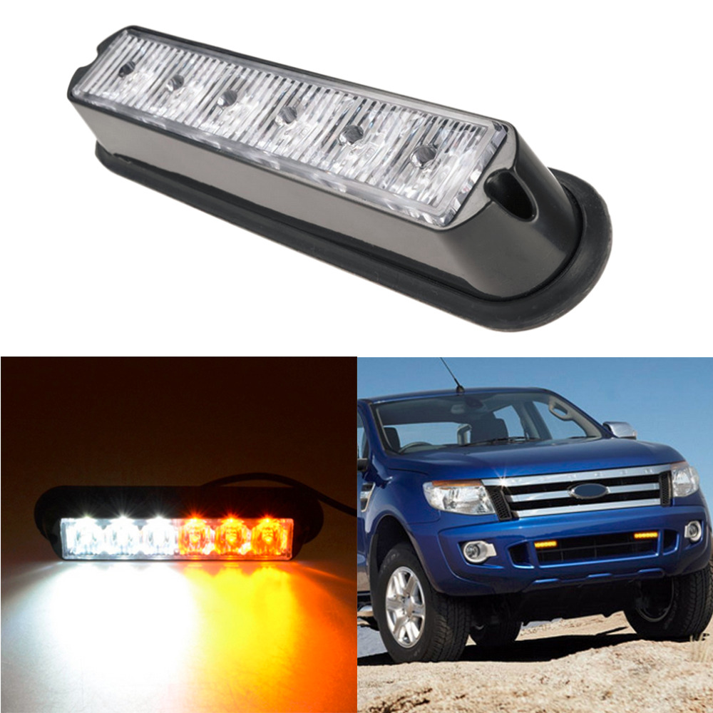 emergency car truck strobe flash light bar new in warning lights. Black Bedroom Furniture Sets. Home Design Ideas