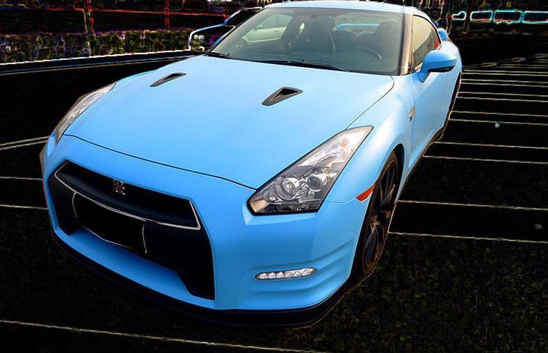 2015 new Wholesale Price 1.52m*30m blue MATTE finish Vehicle Wrap Vinyl car sticker free shipping by express car sticker(China (Mainland))