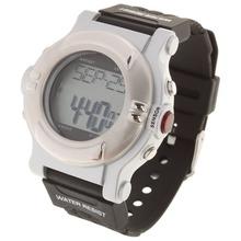 Ocasional con estilo reloj Digital del deporte con caloría del ritmo cardíaco del consumo de energía del Monitor del reloj del Color negro ( 1 x CR2032 )