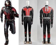 2015 New Marvel  Ant-Man Scott Lang Cosplay Costume Superhero Costume Halloween Costume