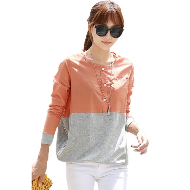 Blusas y camisas mujer винтаж блузка женщины топы блузки кнопки женская верхняя одежда ...