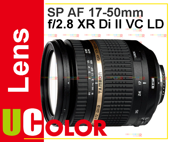 Genuine New Tamron SP AF 17-50mm f/2.8 XR Di-II VC LD For Canon<br><br>Aliexpress