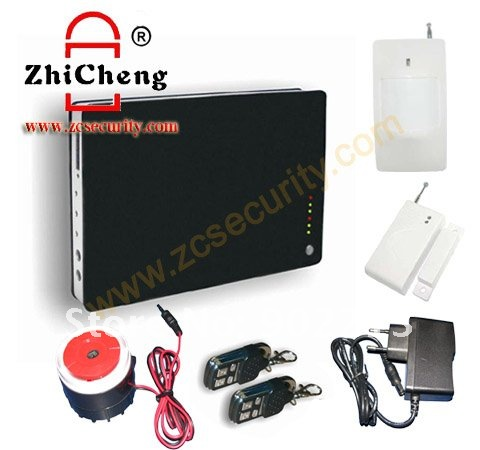 wireless home security GSM alarm system voice remind support iOS APPS & Android APPS free shipping(China (Mainland))
