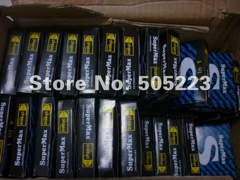 good quality superMax DiSEqC 4 x 1 Switch for satellite receiver free ship by china post 10pcs/lot(China (Mainland))