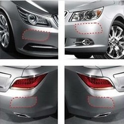4pcs/set Car Bumper Paint Protection Film Sticker Decals fit for Fiat BRAVO VIAGGIO FREEMONT SEDICI Pad Pasting auto accessories(China (Mainland))