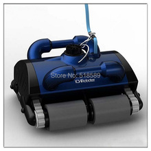 Swimming pool automatic cleaning robot swimming pool intelligent vacuum cleaner with remote controller(China (Mainland))