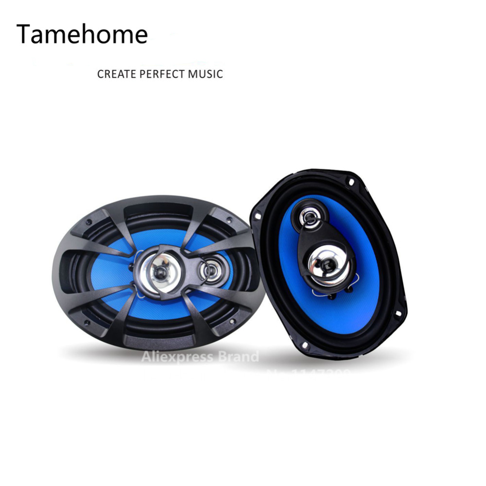 2015 New 1 Pair 6x9 inch 2-way Coaxial Car Speakers Auto Automotivo Car Audio Sound Speaker 6 x 9 Free Shipping<br><br>Aliexpress