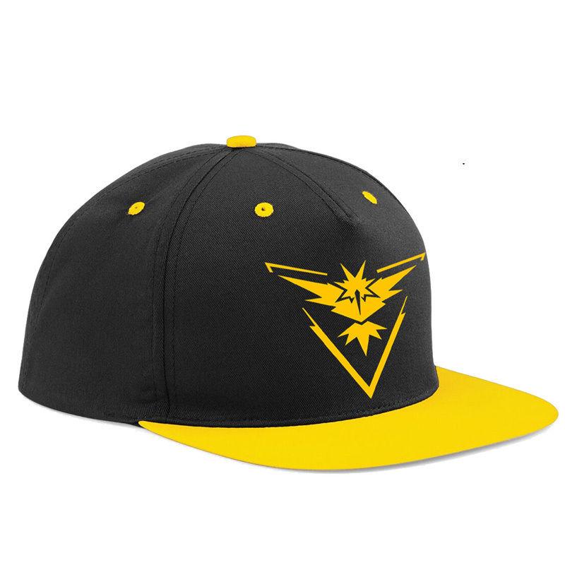 2016 Pokemon Go Cap Hat Team Valor Team Mystic Team Instinct Pokemon Cap Hot Pokemon Hat(China (Mainland))