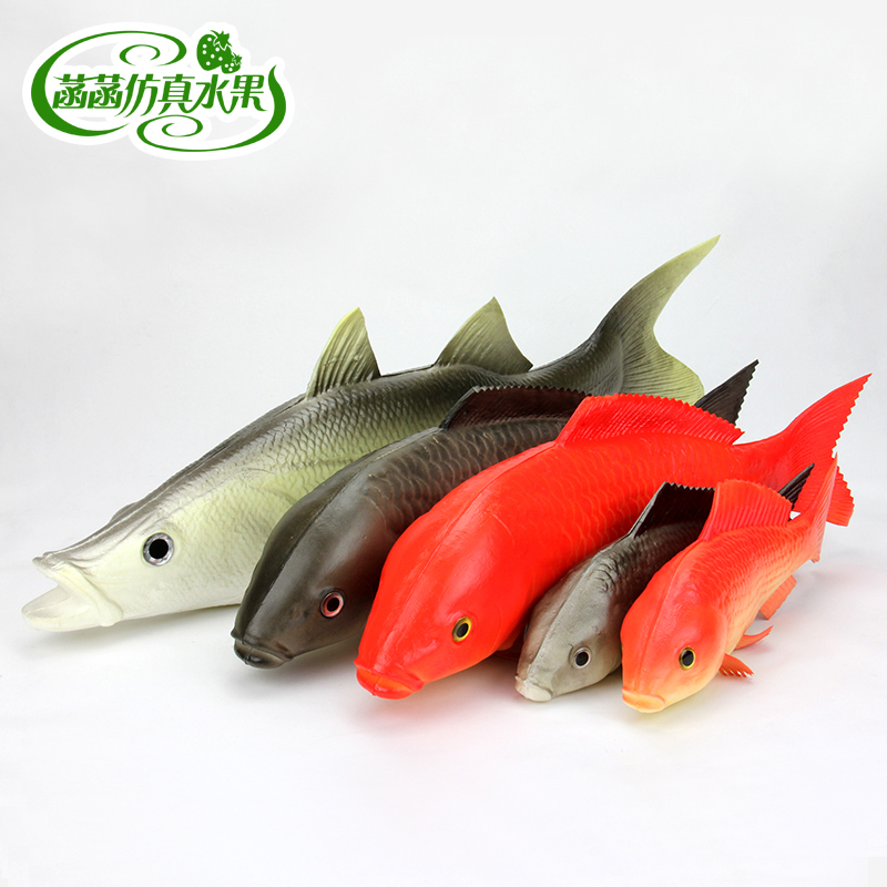 Red Carp Weest Golden Dragon Fish Fake Fish Model Of Tuna