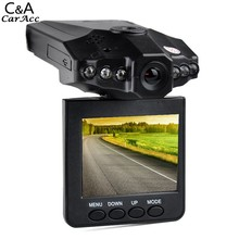 2016 New Car Vehicle Road Safety Guard 2.5 inch LCD  Screen 6 LED DVR Recorder Camera Professional 68(China (Mainland))