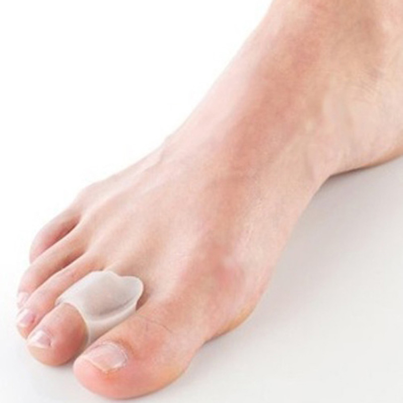 Гаджет  Hot-Free Silicone1Pair/Lot gel toe separator/Gel Toe Bunion Guard/Bunion pain relief gel toe protector None Красота и здоровье