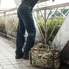 Men's tactical denim jeans tactical cargo jeans military training pants Cordura+cotton fabric(China (Mainland))