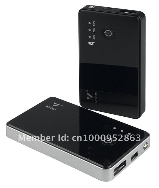 High Quality 2200mAh Portable Power bank with LED Torch for iPhone/HTC/Samsung/iPad/PSP/mobile phone,Free Shipping